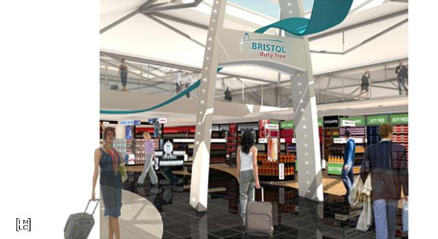 Bristol airport – Duty Free Shop