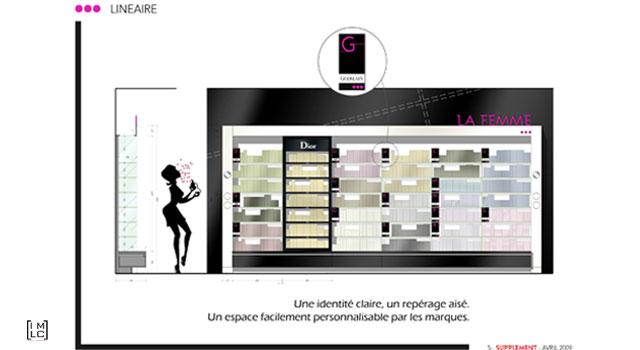 Galeries Lafayette Beauté – Concept