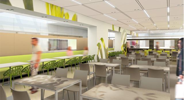 Restaurant d'entreprise du siège social de Sanofi 1200 m² – Paris 8e