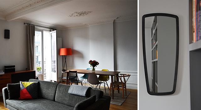 Appartement haussmannien 70 m² – Puteaux