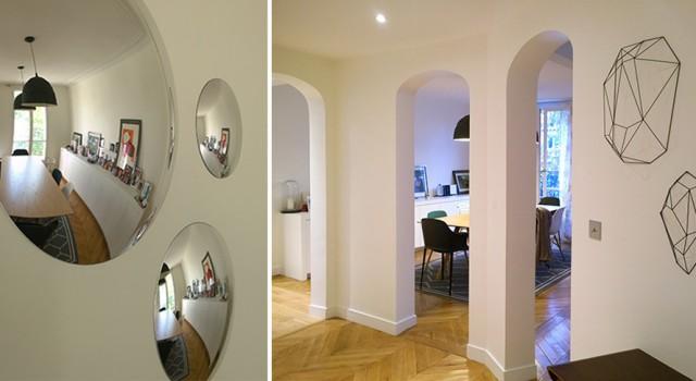 Appartement familial haussmannien 140 m² – Paris 17e