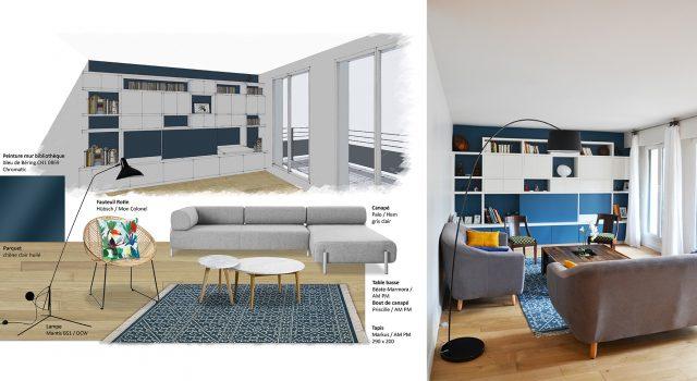Appartement familial 130 m² – Levallois
